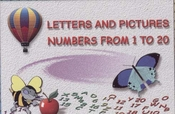 Flash Cards - Letters and Numbers 1 - 20 - English