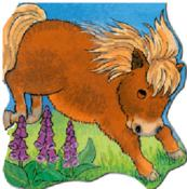 Great Pony (Large Board Book) حصان