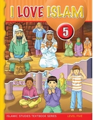 I Love Islam Textbook: Level 5 (With CD)