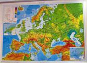 Map of Europe (Canvas, Arabic)