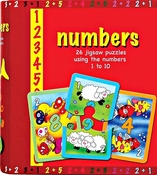 Numbers: 26 Picture Puzzles Using the Numbers 1 to 10