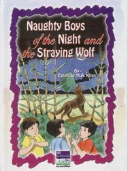 Tales Arabic/English: Naughty boys and the Stray Wolf