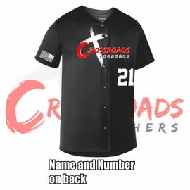 Crossroads Crushers Sublimated Jersey.