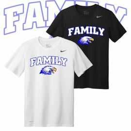 Elma Family Nike Legend Tee.