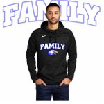 Elma Family Nike Therma-FIT Pullover Fleece Hoodie.