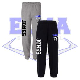 Elma HS Softball Sweatpants.