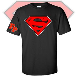 Franklin Pierce HS Women's History MonthSuperman T-Shirt.