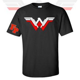 Franklin Pierce HS Women's History Month Wonder Woman T-Shirt.