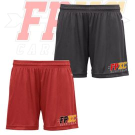 "Franklin Pierce HS Cross Country Badger B-Core  5"" Womens Shorts. 4116."