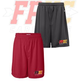 "Franklin Pierce HS Cross Country Badger B-Core 7"" Mens Shorts. 4107."