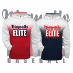 Nisqually Elite Baseball Badger Ombre Hooded Sweatshirt.