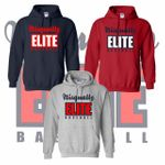 Nisqually Elite Baseball Hooded Sweatshirt.