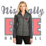 Nisqually Elite Baseball Port Authority Ladies Hybrid Soft Shell Jacket.