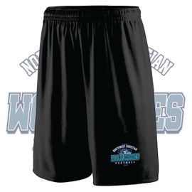 Northwest Christian Football Augusta Training Shorts. 1420.