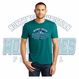 Northwest Christian Football District Perfect Tri Tee. DM130.
