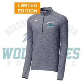 Northwest Christian Football Nike Dry Element 1/2-Zip Cover-Up. 896691.
