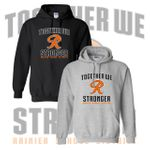Rainier Boosters Hooded Sweatshirt (Together We Are Stronger Logo).