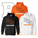 Rainier Boosters Hooded Sweatshirt  (RHS Mountaineer Logo).