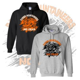 Rainier Boosters Hooded Sweatshirt (No Fear Logo).