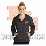Rainier Boosters Sport-Tek Ladies Hooded Wind Jacket (Embroidered RHS Mountaineer Logo).