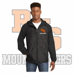 Rainier Boosters Sport-Tek Men's Hooded Wind Jacket (Embroidered RHS Mountaineer Logo).