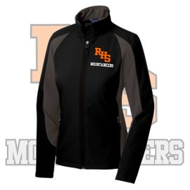 Rainier Boosters Men's Sport-Tek Colorblock Soft Shell Jacket.