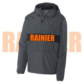 Rainier Boosters Sport-Tek Anorak Zipped Pocket Pullover.