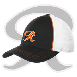 "Rainier Boosters Sport-Tek Piped Mesh Back Cap (Classic ""R"" Logo)"