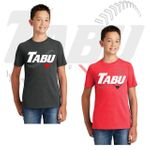 TABU Fastpitch District Youth Perfect Tri Tee. DT130Y.