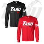 TABU Fastpitch Gildan Long Sleeve T-Shirt. 2400.