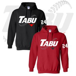 TABU Fastpitch Gildan Hooded Sweatshirt. 18500.