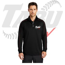 TABU Fastpitch Nike Dri-FIT 1/2-Zip Cover-Up. 354060.