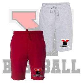 Yelm HS Baseball Independent Midweight Fleece Shorts W/ Pockets. IND20SRT.