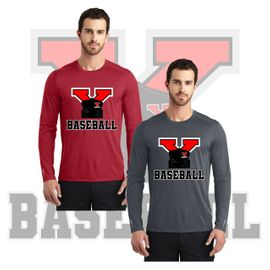 Yelm HS Baseball  OGIO ENDURANCE Long Sleeve Pulse Crew. OE321