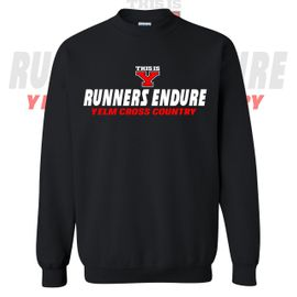 Yelm HS Cross Country Crewneck Sweatshirt.