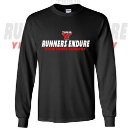 Yelm HS Cross Country Long Sleeve T-Shirt.