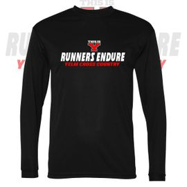Yelm HS Cross Country Performance Dri-Fit Long Sleeve Tee.