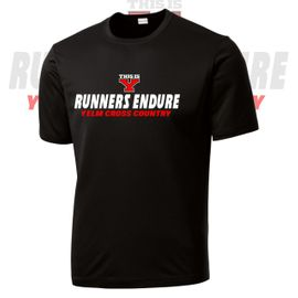 Yelm HS Cross Country Performance Dri-Fit Tee.