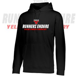 Yelm HS Cross Country Performance Hooded Sweatshirt.