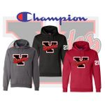 Yelm HS Fastpitch Champion Hooded Sweatshirt. S700.