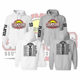 Yelm HS Fastpitch Undefeated Hooded Sweatshirt.