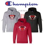 Yelm HS Football Champion Double Eco Hooded Sweatshirt. S700.