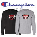 Yelm HS Football Champion Long Sleeve T-Shirt. CC8C.