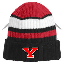 Yelm HS Football New Era Ribbed Tailgate Beanie. NE903.