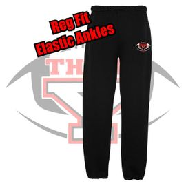 Yelm HS Football Pocketed Sweatpants.