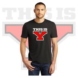 Yelm HS Staff District Perfect Tri Tee. DM130.