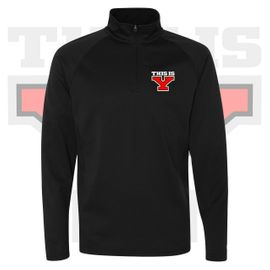 Yelm HS Staff Champion Performance Quarter-Zip Sweatshirt. S230.