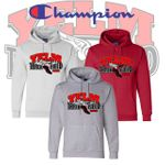 Yelm HS Track & Field CHAMPION Fleece Pullover Hooded Sweatshirt. S700.