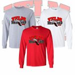 Yelm HS Track & Field Long Sleeve T-Shirt.