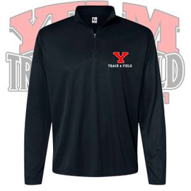 Yelm HS Track & Field Quarter-Zip Pullover. 5102.